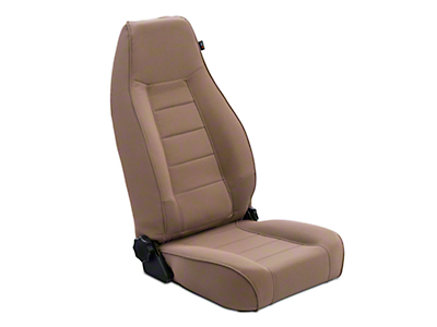 Rugged Ridge Reclining Front Seat - Tan (87-02 Jeep Wrangler YJ & TJ)