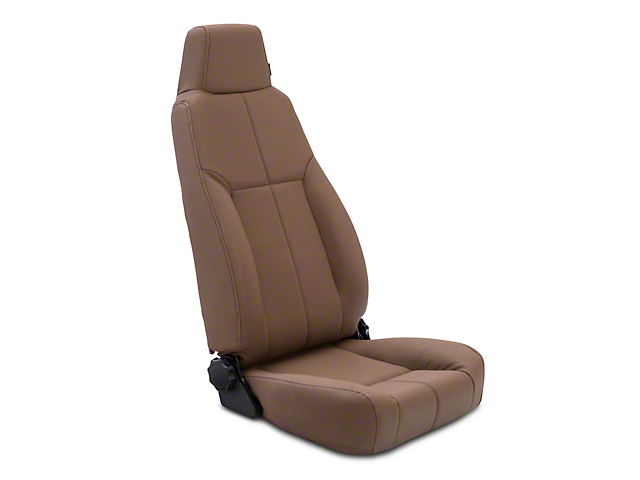 Rugged Ridge Reclining Front Seat w/ Headrest - Spice (87-02 Jeep Wrangler YJ & TJ)