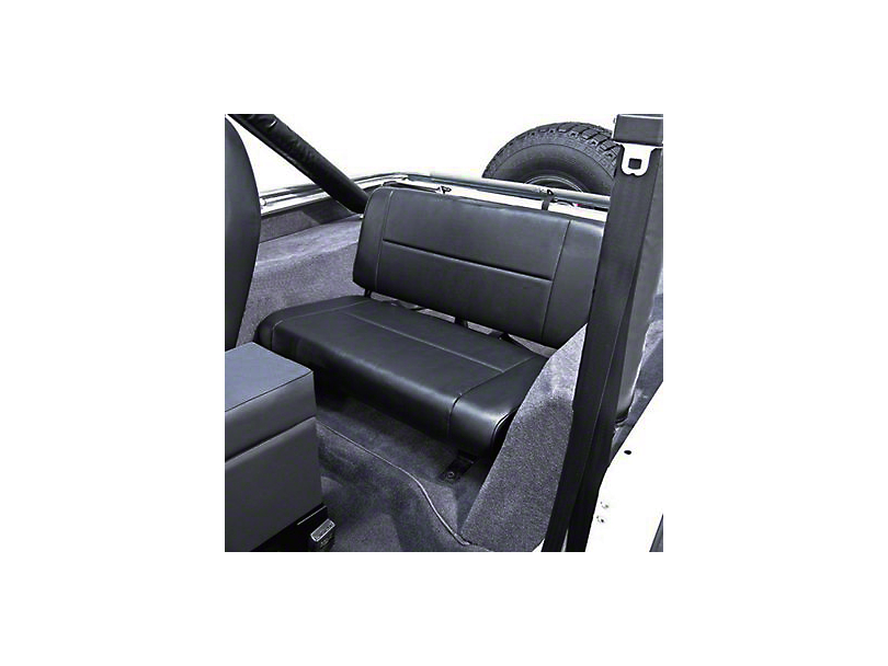 Rugged Ridge Standard Fixed Rear Seat - Gray (87-95 Wrangler YJ)