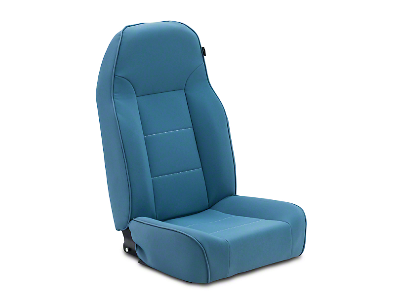 Rugged Ridge Standard Front Bucket Seat - Blue (87-02 Wrangler YJ & TJ)