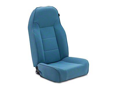 Rugged Ridge Standard Front Bucket Seat - Blue (87-02 Jeep Wrangler YJ & TJ)
