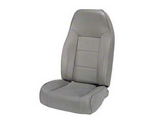 Rugged Ridge Standard Front Bucket Seat - Gray (87-02 Wrangler YJ & TJ)