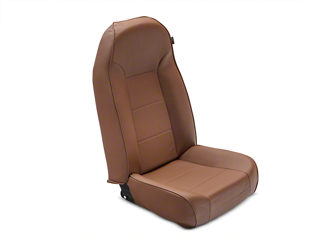 Rugged Ridge High-Back Front Seat; Nutmeg (87-02 Jeep Wrangler YJ & TJ)