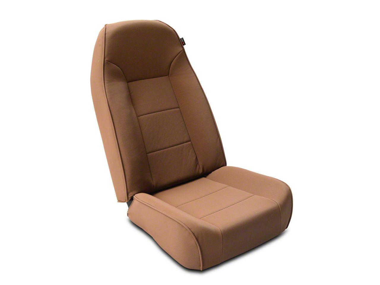 Rugged Ridge Standard Front Bucket High-Back Seat - Spice (87-02 Jeep Wrangler YJ & TJ)