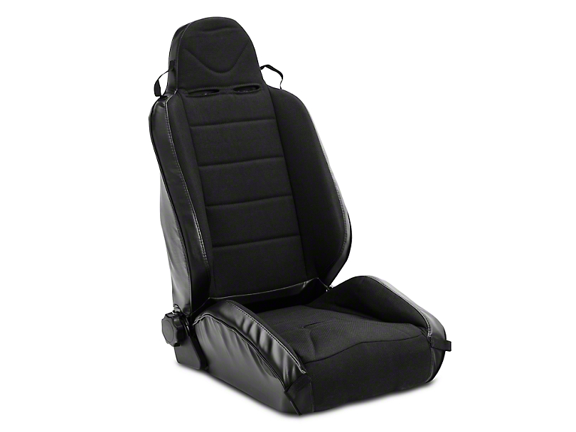 Rugged Ridge XHD Off Road Reclining Front Seat - Black/Black (97-06 Wrangler TJ)