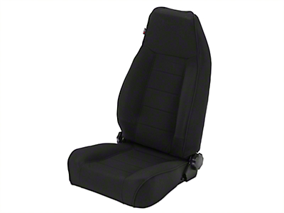 Rugged Ridge XHD Reclining Front Seat - Black Denim (97-06 Wrangler TJ)
