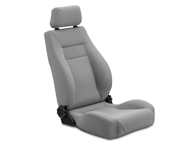 Rugged Ridge XHD Ultra Reclining Front Seat - Gray (97-06 Wrangler TJ)