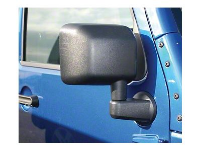 Replacement Right Mirror for Jeep Wrangler JK 2007-2018 11002.12 Rugged Ridge