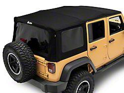 Bestop Supertop NX Soft Top w/ Tinted Windows - Black Twill (07-18 Jeep Wrangler JK 4 Door)