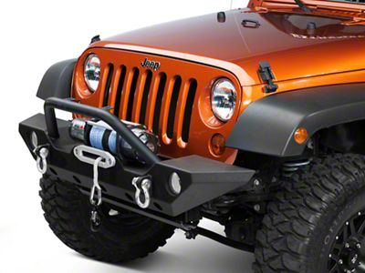 Add Barricade Trail Force HD Front Bumper (07-17 Wrangler JK)