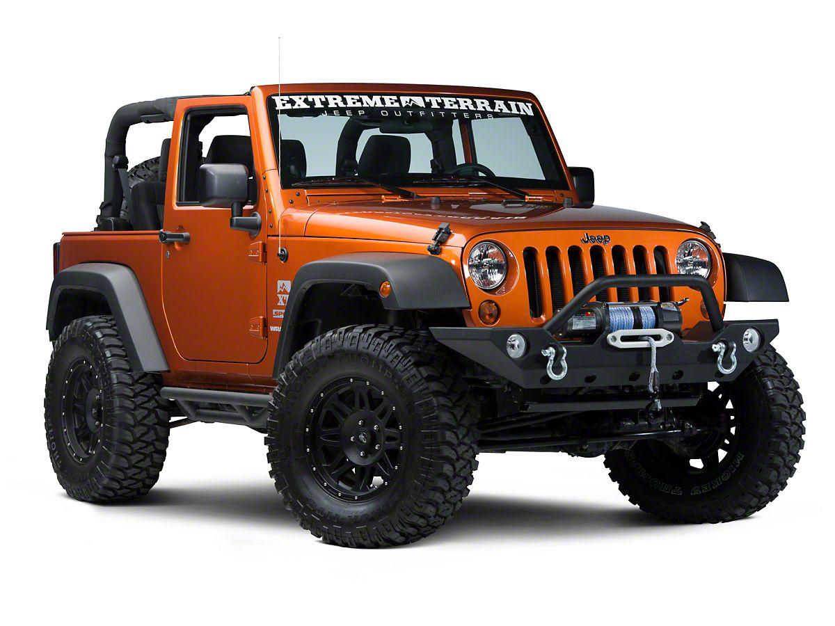 Jeep Wrangler Accessories 2017 >> Barricade Trail Force Hd Front Bumper 07 18 Jeep Wrangler Jk