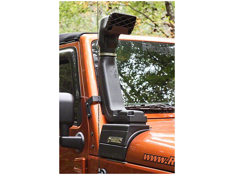 Rugged Ridge Modular XHD Low/High Mount Snorkel Kit (12-18 3.6L Jeep Wrangler JK)