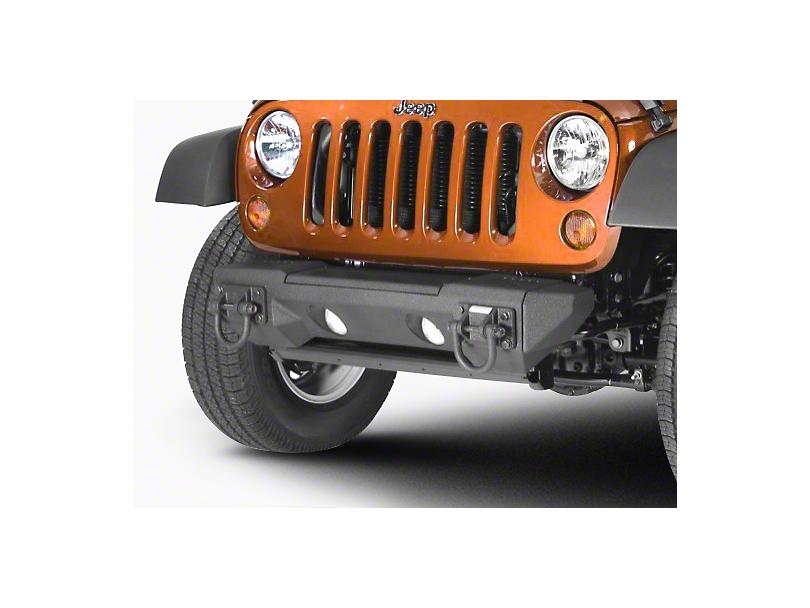 Rugged Ridge All-Terrain Stubby Bumper Ends (07-18 Jeep Wrangler JK)