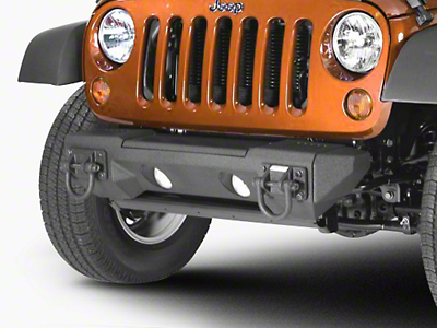 Rugged Ridge All Terrain Stubby Bumper Ends (07-18 Jeep Wrangler JK; 2018 Jeep Wrangler JL)