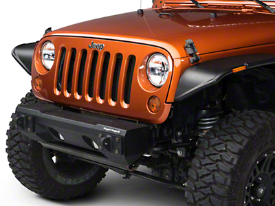 Rugged Ridge All Terrain Modular Front Bumper (07-18 Wrangler JK)