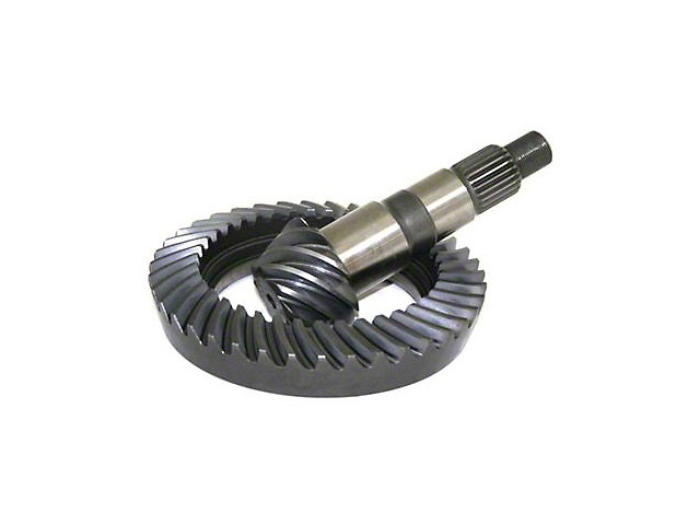 G2 Axle and Gear Dana 30 Front Axle Ring and Pinion Gear Kit; 3.73 Gear Ratio (97-06 Jeep Wrangler TJ, Excluding Rubicon)
