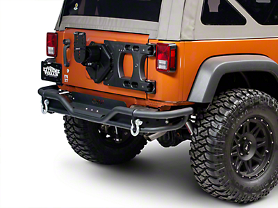 Teraflex HD Hinged Carrier w/ Adjustable Tire Mount (07-17 Wrangler JK)