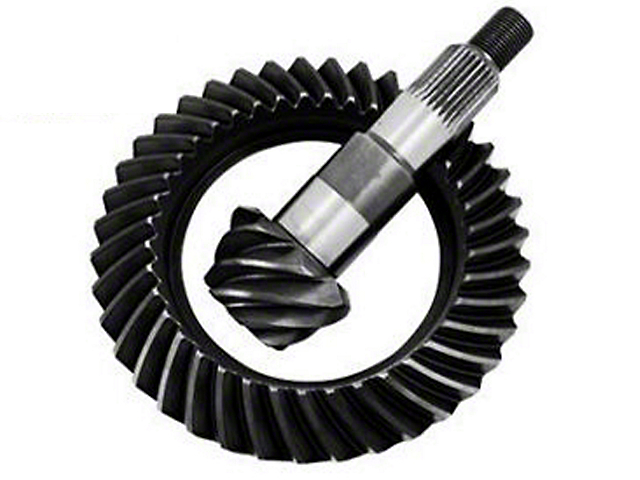 G2 Axle and Gear Dana 44 Rear Axle Ring and Pinion Gear Kit; 4.09 Gear Ratio (97-06 Jeep Wrangler TJ, Excluding Rubicon)