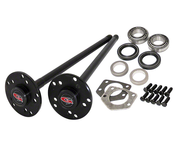 G2 Axle and Gear 33 Spline Rear Axle Kit for Dana 44 (97-06 Jeep Wrangler TJ, Excluding Rubicon)