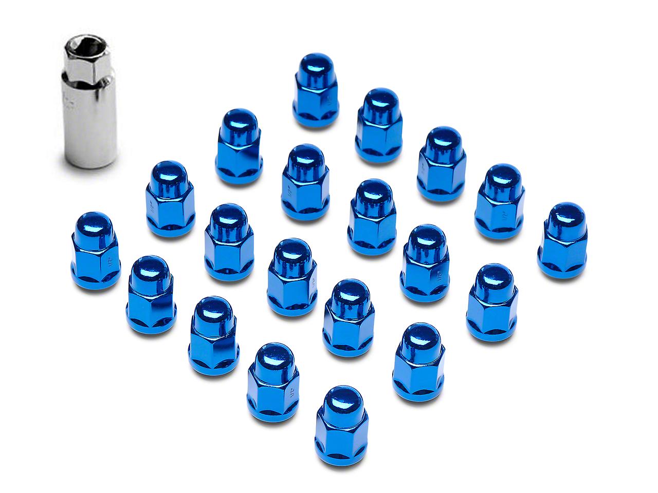 Blue Acorn Lug Nuts - 3/4 in. (87-18 Wrangler YJ, TJ & JK)