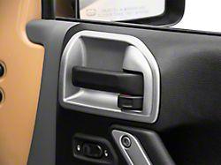 Rugged Ridge Charcoal Door Latch Trim (11-18 Jeep Wrangler JK)