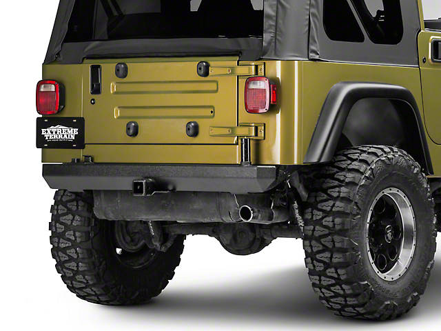Rugged Ridge Rock Crawler Rear Bumper (87-06 Jeep Wrangler YJ & TJ)