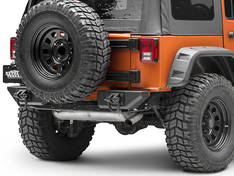 Rugged Ridge Aluminum Rear Bumper Pods (07-18 Jeep Wrangler JK)