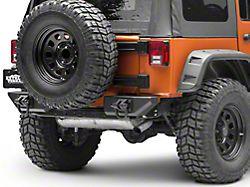 Rugged Ridge Aluminum Rear Bumper Pods (07-18 Jeep Wrangler JK)