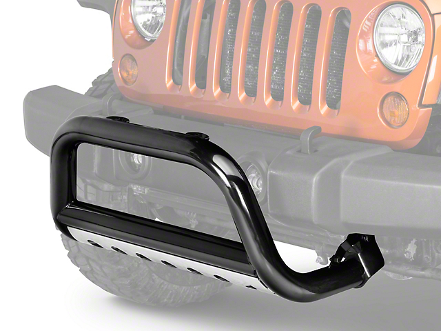 Rugged Ridge 3 in. Bull Bar - Black (07-09 Jeep Wrangler JK)