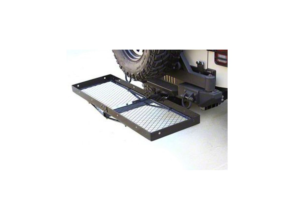 Rugged Ridge 11580.20 Receiver Hitch with Cargo Rack
