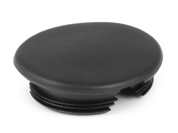 Omix-ADA Window Crank Cover - Black (87-95 Jeep Wrangler YJ w/ Full Doors)