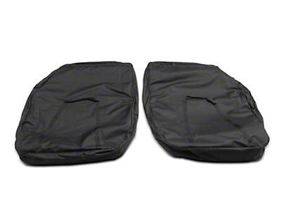 Rugged Ridge Front Door Storage Bag Kit (07-18 Wrangler JK; 2018 Wrangler JL)