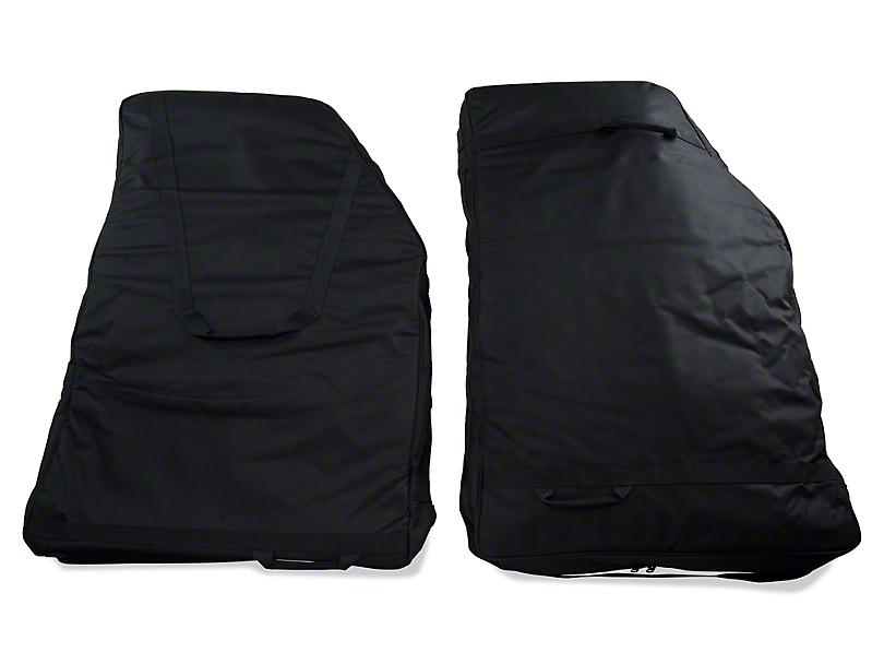 Rugged Ridge Rear Door Storage Bag Kit (07-20 Jeep Wrangler JK & JL)