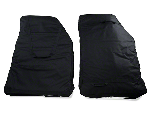 Rugged Ridge Rear Door Storage Bag Kit (07-18 Jeep Wrangler JK; 2018 Jeep Wrangler JL)