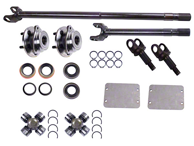 Alloy USA Front Grande 30 Axle Shaft Kit (87-95 Wrangler YJ)