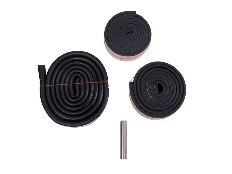 Hardtop Weatherstrip Kit and Pipe (87-95 Jeep Wrangler YJ)
