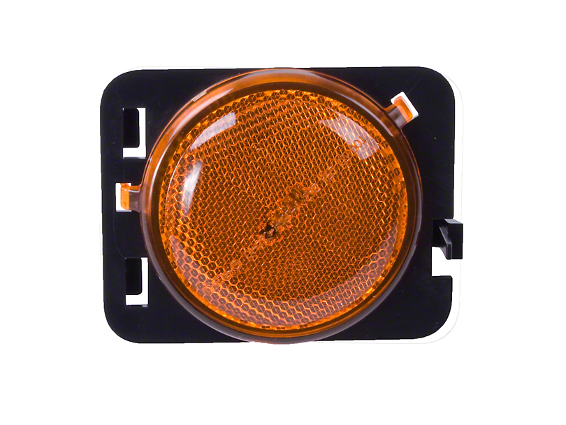 Right Side Side Marker Light, Amber (07-13 Jeep Wrangler JK)