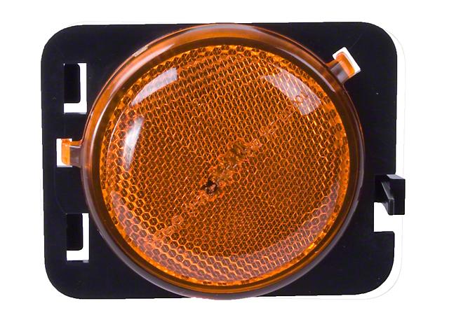 Side Marker Light; Passenger Side; Amber (07-18 Jeep Wrangler JK)