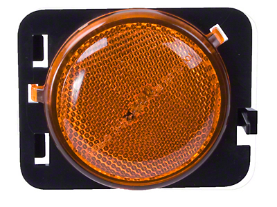 Omix-ADA Right Side Side Marker Light, Amber (07-13 Wrangler JK)