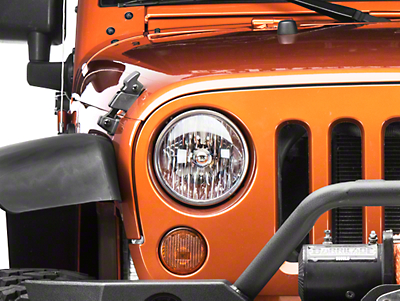 Omix-ADA Left Headlight Assembly (07-18 Wrangler JK)