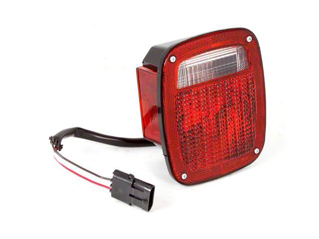 Tail Light - Driver Side (87-90 Jeep Wrangler YJ)