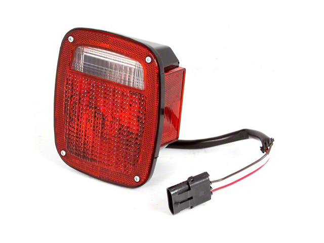 Tail Light; Passenger Side (87-90 Jeep Wrangler YJ)
