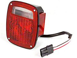 Tail Light - Passenger Side (87-90 Jeep Wrangler YJ)