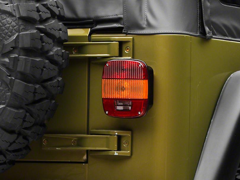 Omix-ADA Export Tail Light (97-06 Jeep Wrangler TJ)