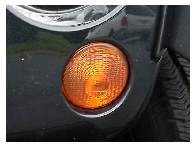 Left Park Lamp - Amber (07-18 Jeep Wrangler JK)