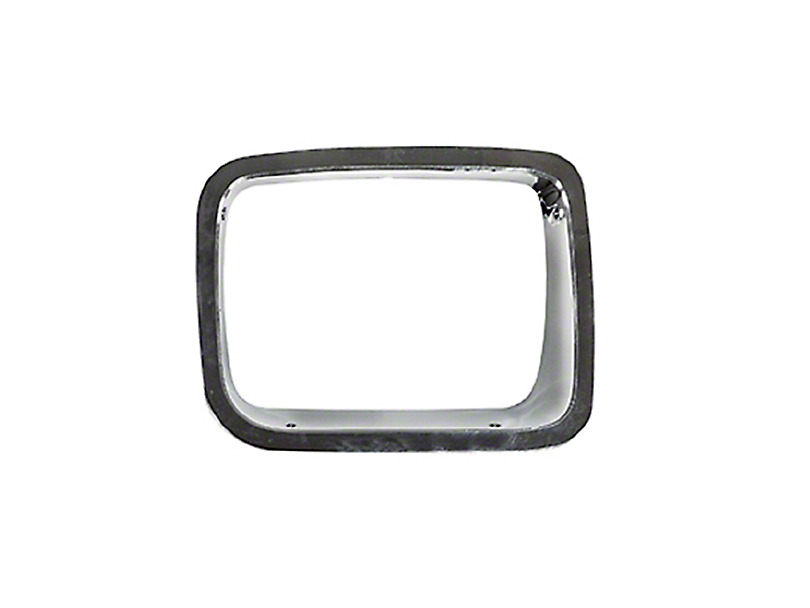 Omix-ADA Right Side Headlight Bezel - Chrome (87-95 Jeep Wrangler YJ)