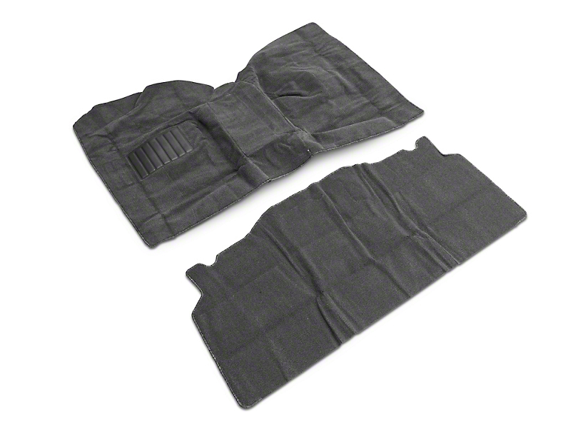 Rugged Ridge Deluxe Carpet Kit w/ Adhesive - Gray (87-95 Wrangler YJ)