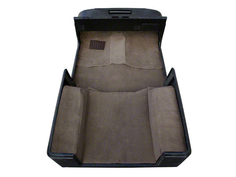 Rugged Ridge Deluxe Carpet Kit w/ Adhesive - Honey (87-95 Jeep Wrangler YJ)