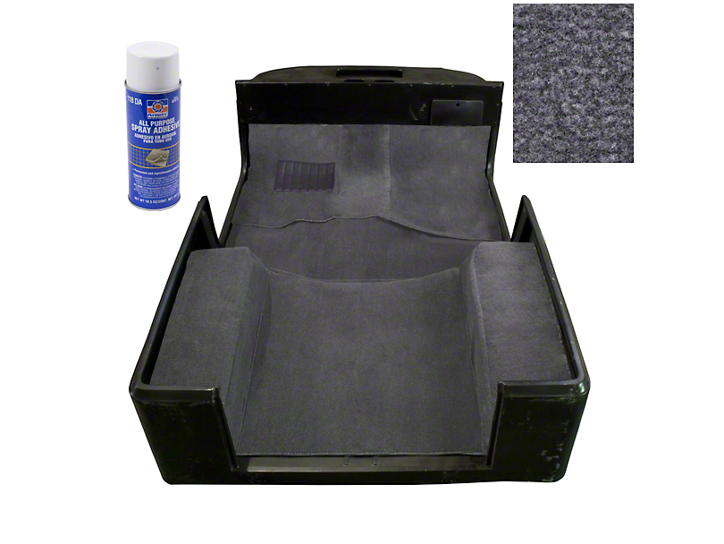 Rugged Ridge Deluxe Carpet Kit w/ Adhesive - Gray (97-06 Jeep Wrangler TJ)