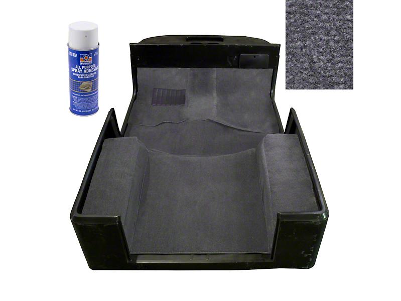 Rugged Ridge Deluxe Carpet Kit w/ Adhesive - Gray (97-06 Wrangler TJ)